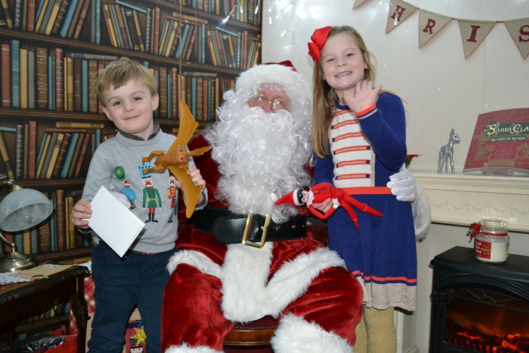 Santa's Grotto at Carnegie House