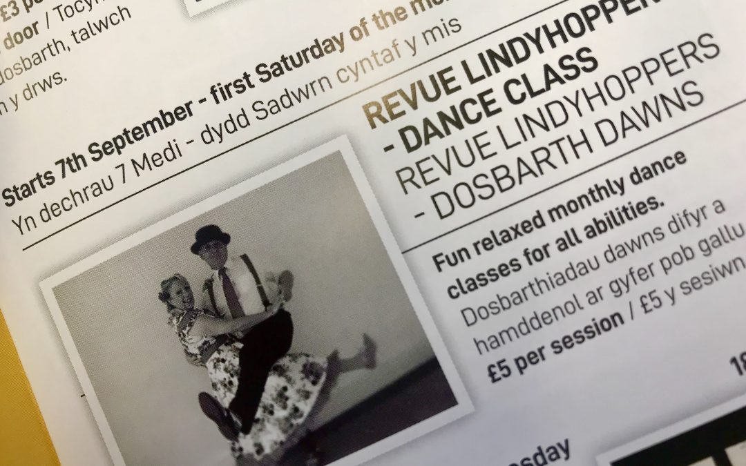 The Revue Lindy Hoppers Dance Class